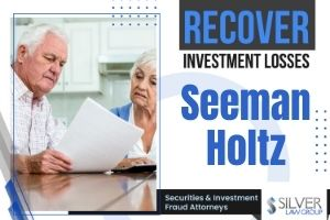 Seeman Holtz, a Boca Raton-based company, is auctioning 100% of its property and casualty business. Silver Law Group has filed two lawsuits against Seeman Holtz on behalf of investors who were sold unregistered promissory notes in Para Longevity and other offerings. The lawsuits allege that investors were not paid when their notes matured.  Investors Are Owed Principal  Many Seeman Holtz investors allege they have not received principal back after their promissory notes matured. Investors have been told to wait for the company to recapitalize, which they were told would allow the company to pay investors their principal. Despite these assurances, investors continue to wait.  BocaNewsNow.com reported that Seeman Holtz received $4,269,400 in PPP money, and that Marshall Seeman listed his home in Boca Raton for sale for $8,650,000.